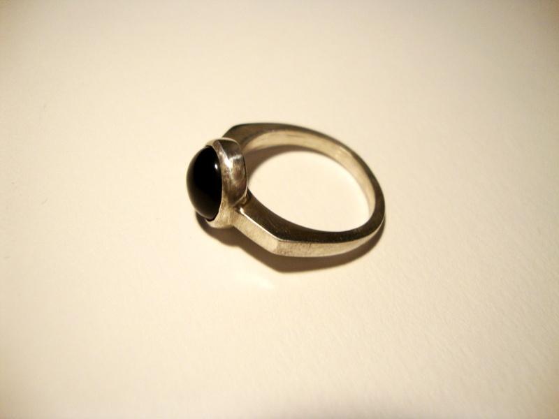 Bague argent et onyx noir sans soudure Dsc01915