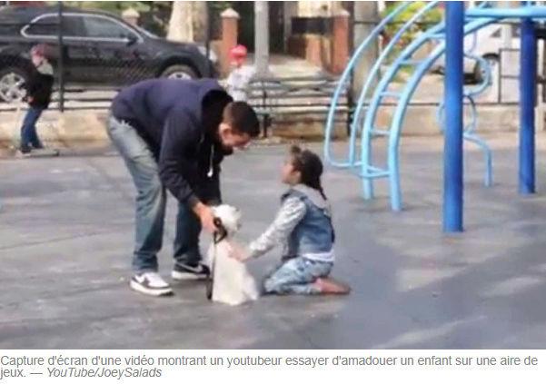 Un Youtubeur montre comment il est facile de kidnapper un enfant Temp11