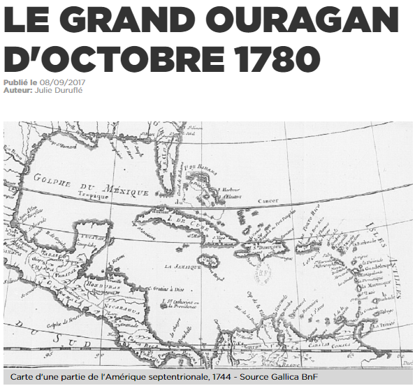 LE GRAND OURAGAN D'OCTOBRE 1780 Temp13