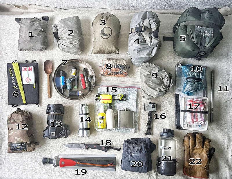 Kit bivouac Hautes-Alpes 16 & 17 août 2017 20170810