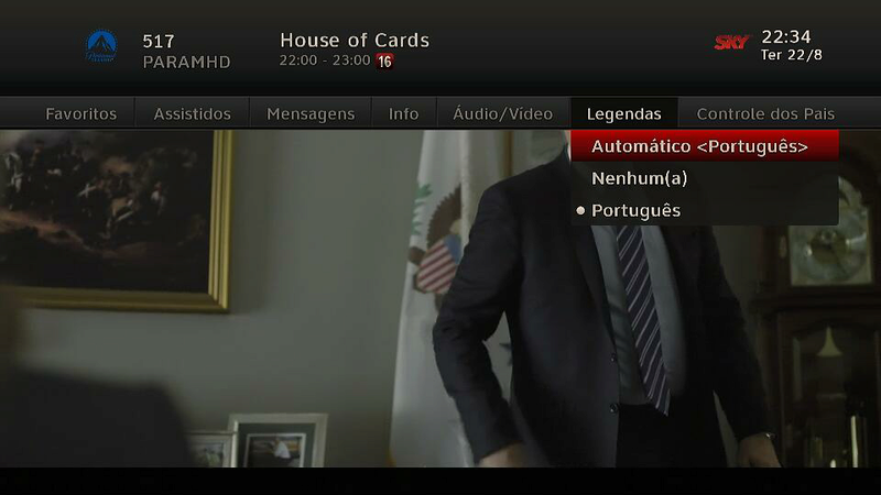 legenda - Adicionada legenda eletrônica no Paramount Channel HD, History HD, Warner HD, Discovery HD 2017-010