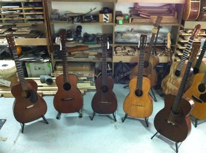 Martin 0-17 1934 + mandoline Ozark amplifiée: 3000 Euros. 14807610