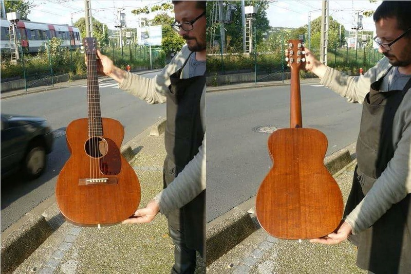Martin 0-17 1934 + mandoline Ozark amplifiée: 3000 Euros. Martin25