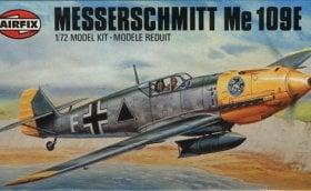 Messerschmitt 109E 4b / Airfix - Nr. s2-02048-8 - 1:72 (1977) 14882010