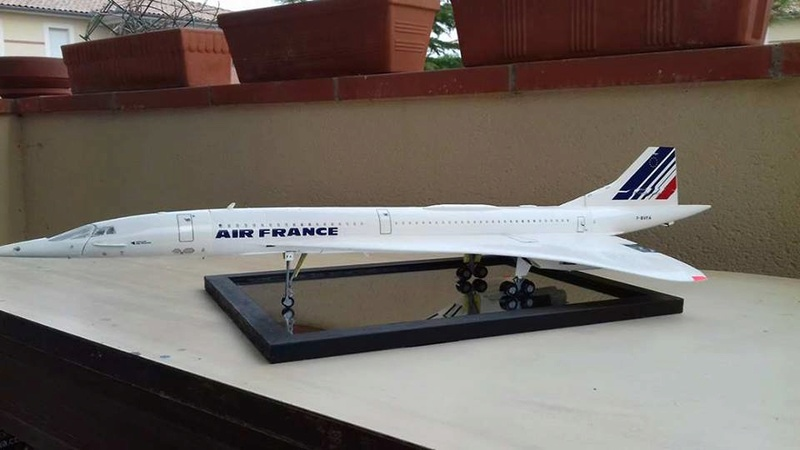SUD AVIATION - BRITISH AIRCRAFT CORPORATION  CONCORDE AIR FRANCE Réf 52903 21919110