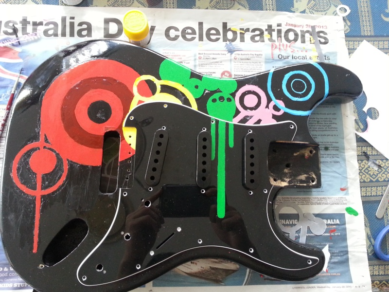 """[PROJECT] Fender Stratocaster SSS """"Mami Model"""" - Page 2 20130116"""