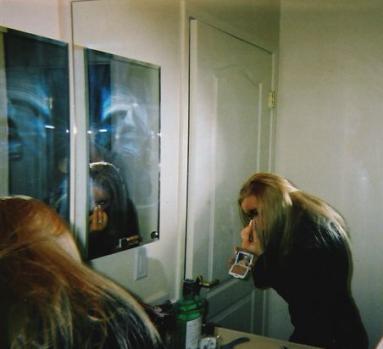 Rosto Distorcido no Espelho Fantas10