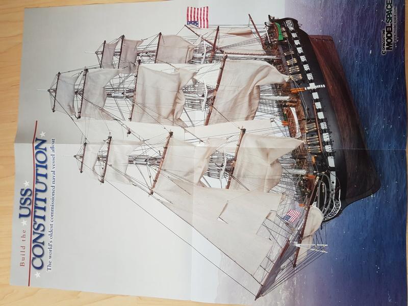 USS Constitution von DeAgostini 1:76 20170916