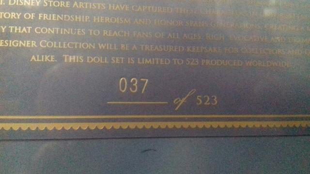 Disney Fairytale/Folktale/Pixar Designer Collection (depuis 2013) - Page 22 20813510
