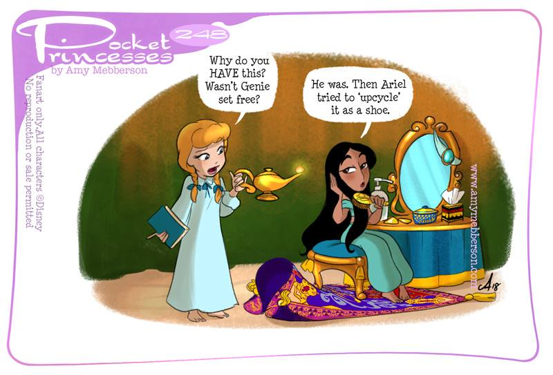 [Dessins humoristiques] Amy Mebberson - Pocket Princesses - Page 39 24810