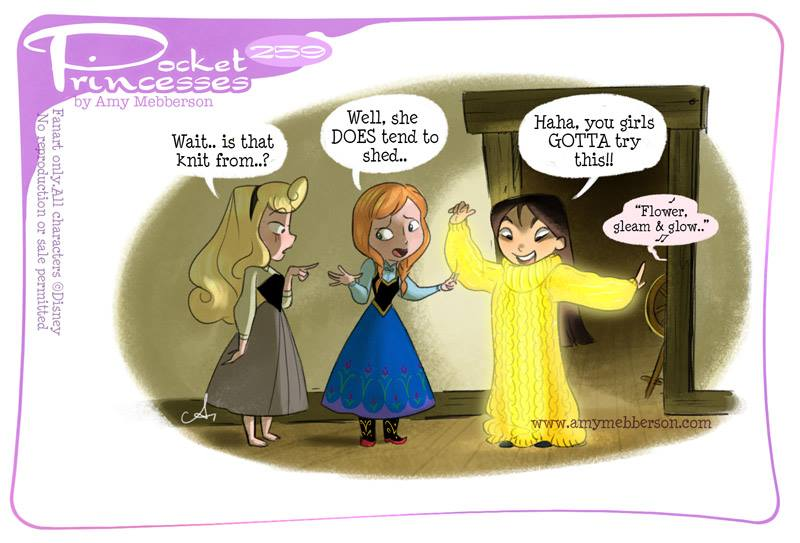 [Dessins humoristiques] Amy Mebberson - Pocket Princesses - Page 39 25910