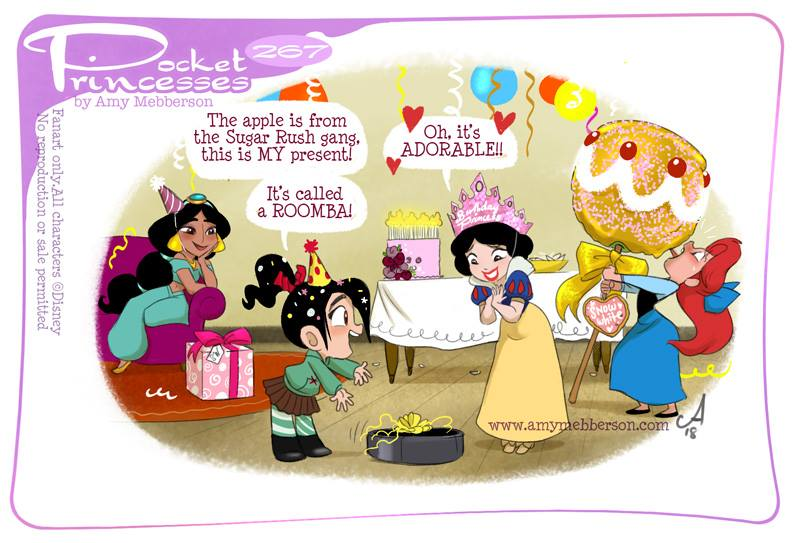 [Dessins humoristiques] Amy Mebberson - Pocket Princesses - Page 39 26710
