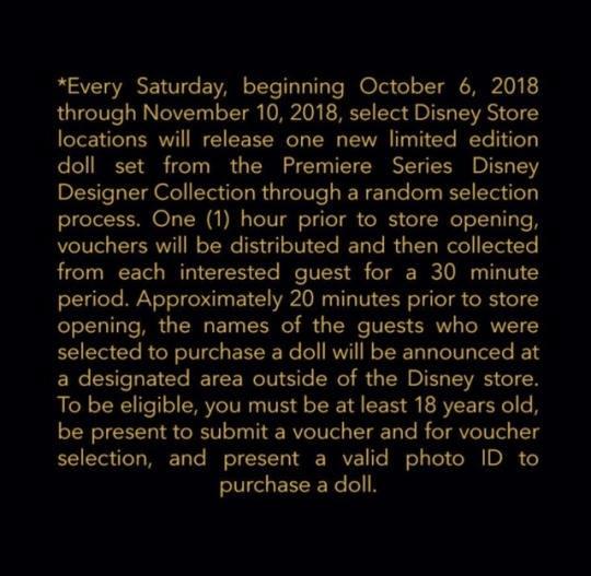 Disney Designer Collection - Premiere Series 41495210