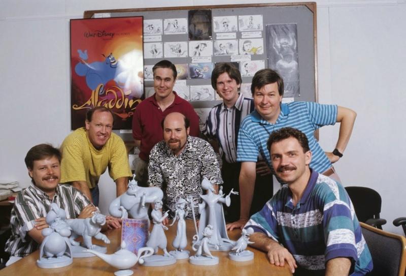 Les maquettes des studios Disney Aladdi11