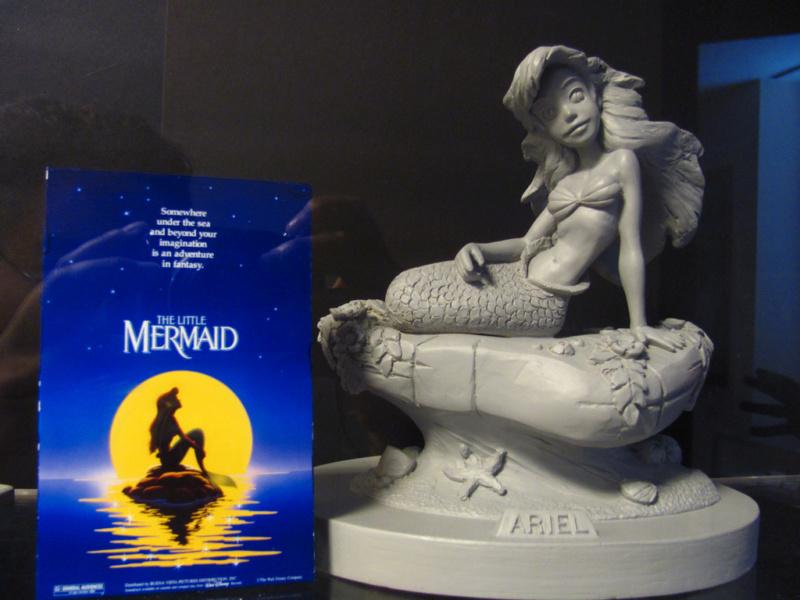 Les maquettes des studios Disney Ariel_10