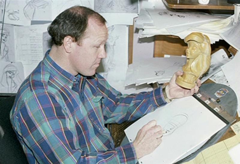 Les maquettes des studios Disney Ariel_12