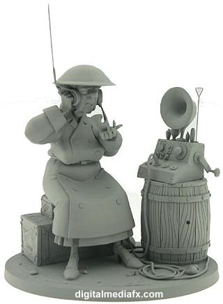 Les maquettes des studios Disney Atlant19