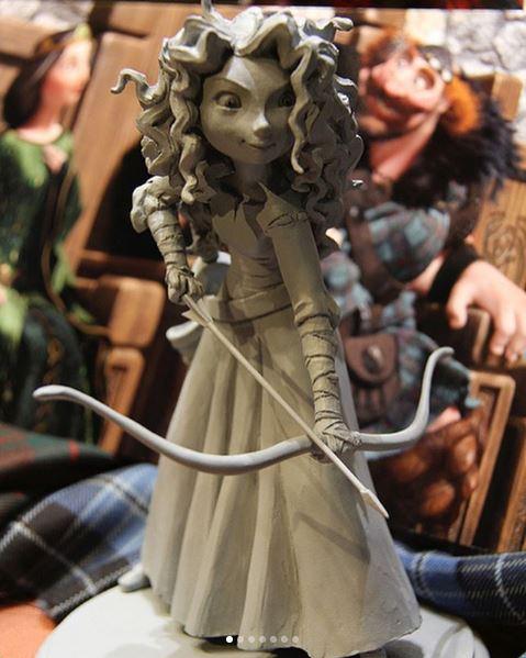 Les maquettes des studios Disney Brave10