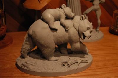 Les maquettes des studios Disney Brothe13