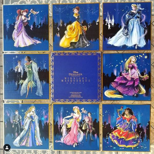 Disney Midnight Masquerade Designer Collection (depuis 2019) Bugb10