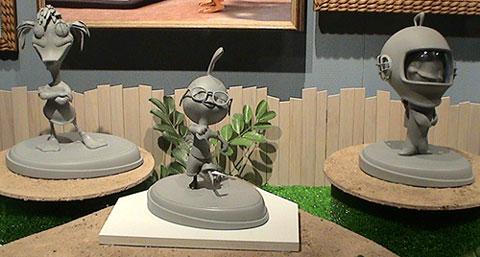 Les maquettes des studios Disney Chicke10