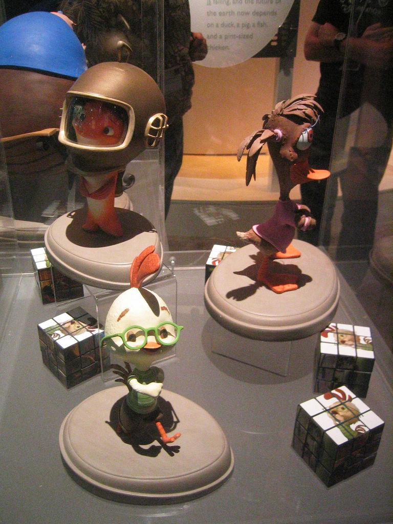 Les maquettes des studios Disney Chicke11