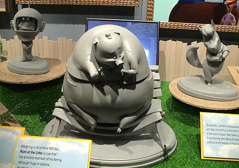 Les maquettes des studios Disney Chicke12