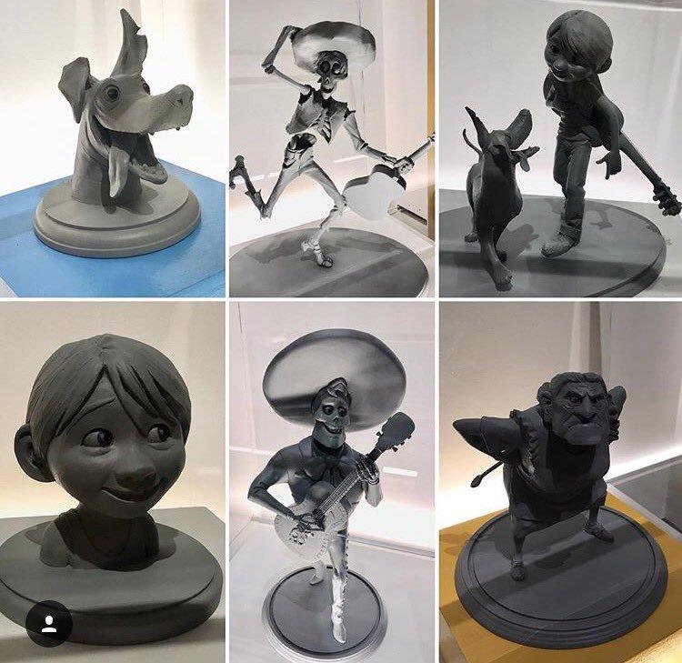 Les maquettes des studios Disney Coco10