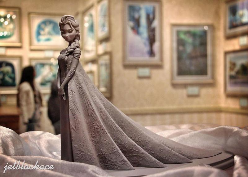 Les maquettes des studios Disney Frozen11