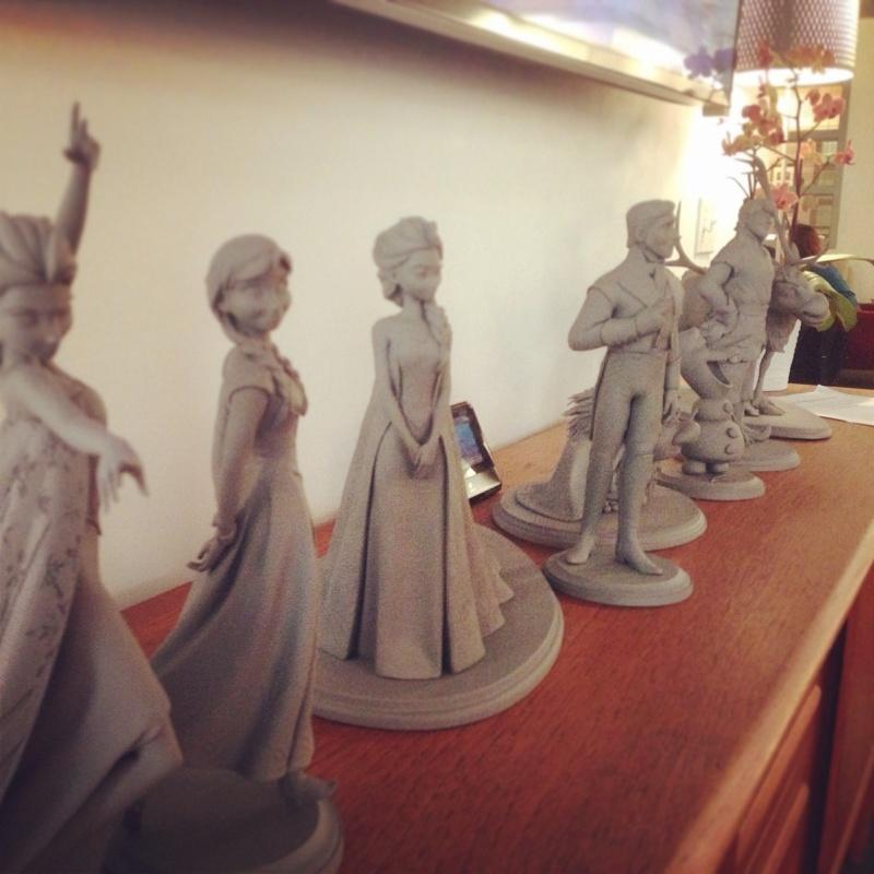 Les maquettes des studios Disney Frozen12