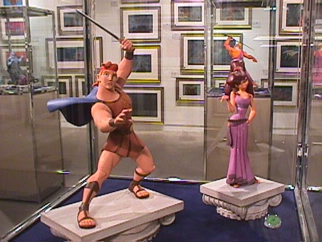 Les maquettes des studios Disney Hercul10