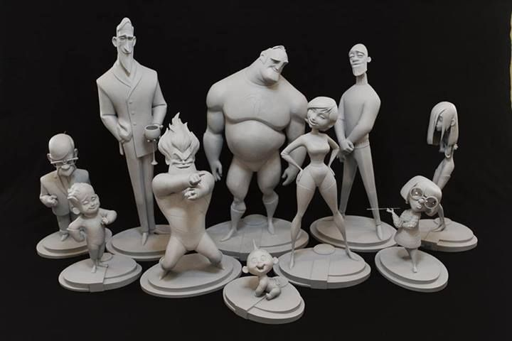 Les maquettes des studios Disney Incre_17