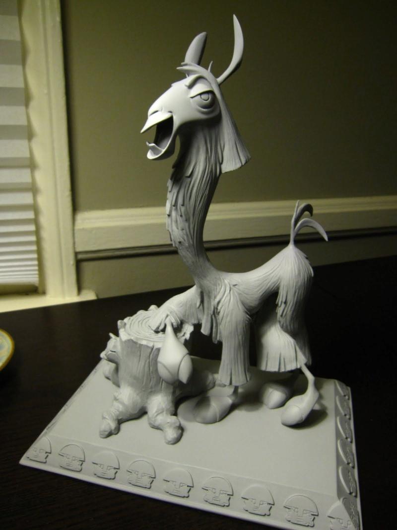 Les maquettes des studios Disney Kuzco10