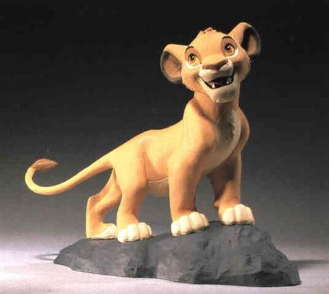 Les maquettes des studios Disney Lion_k10