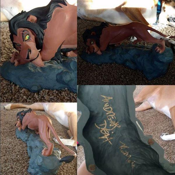 Les maquettes des studios Disney Lion_k14