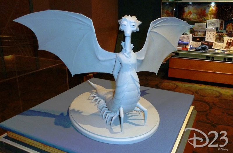 Les maquettes des studios Disney Monstr11