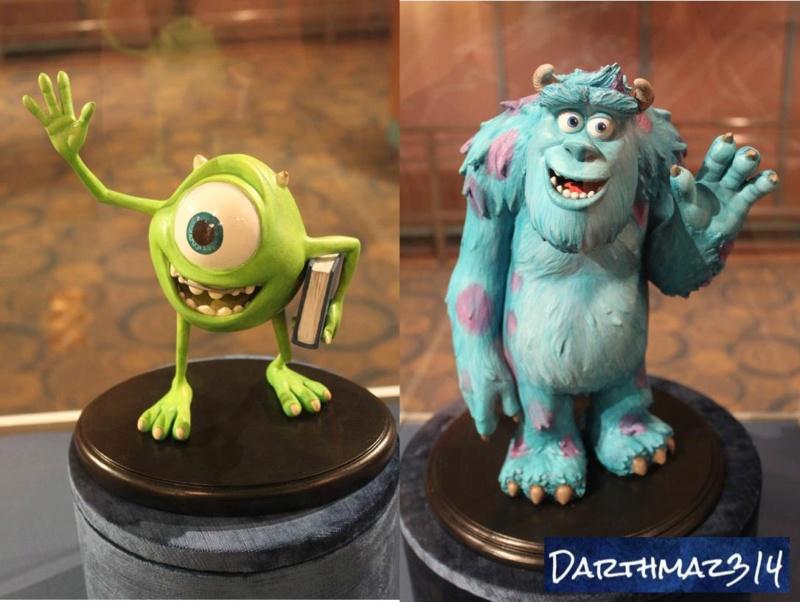 Les maquettes des studios Disney Monstr13