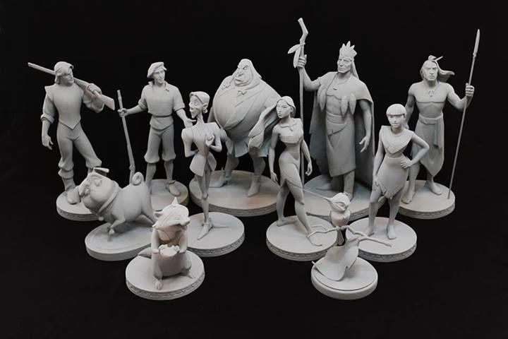 Les maquettes des studios Disney Poca_510