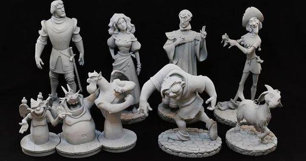 Les maquettes des studios Disney Quasi_10