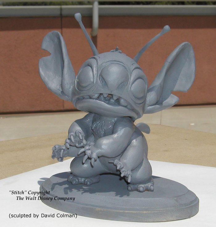 Les maquettes des studios Disney Stitch12