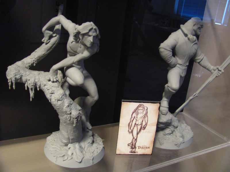 Les maquettes des studios Disney Tarzan11