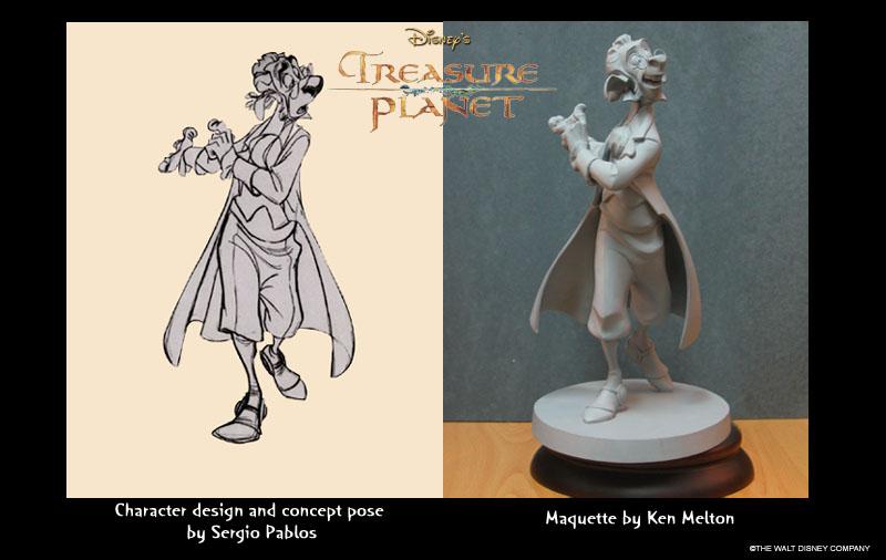 Les maquettes des studios Disney Treasu11