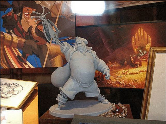 Les maquettes des studios Disney Treasu14