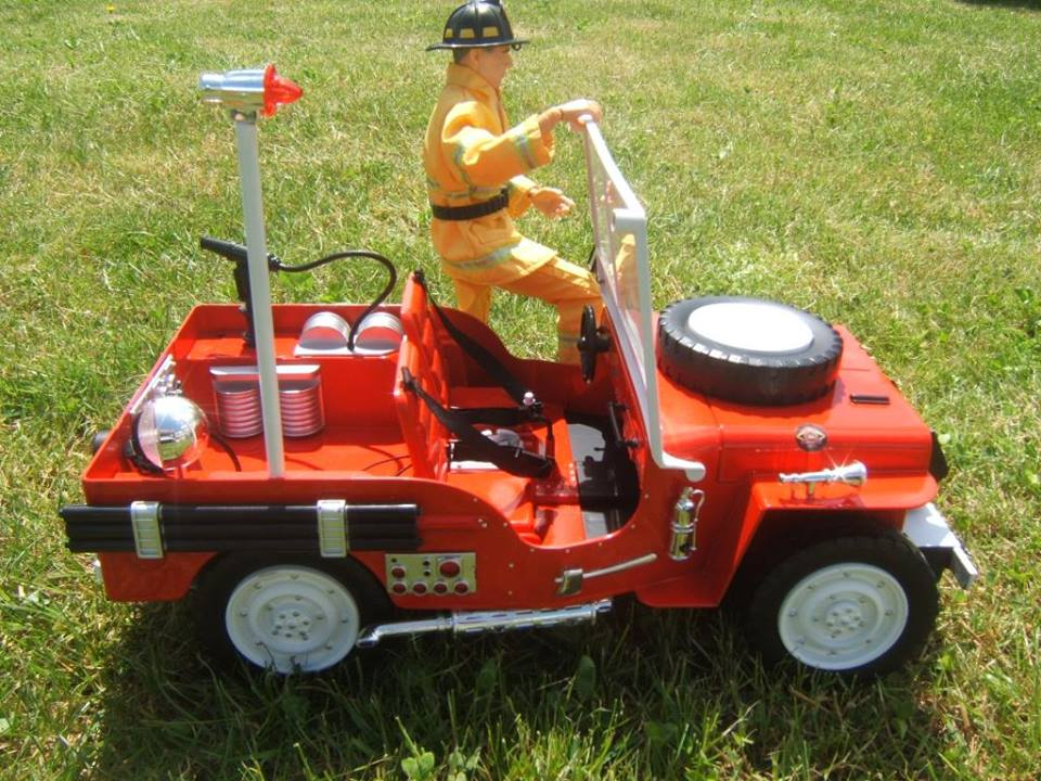 Jeep moderne pompiers  10891710