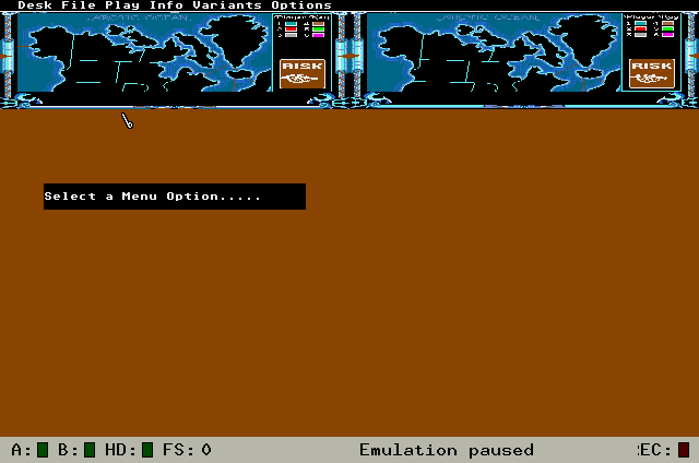 FMP sous émulation ATARI - résolutions d'écran Risk-310