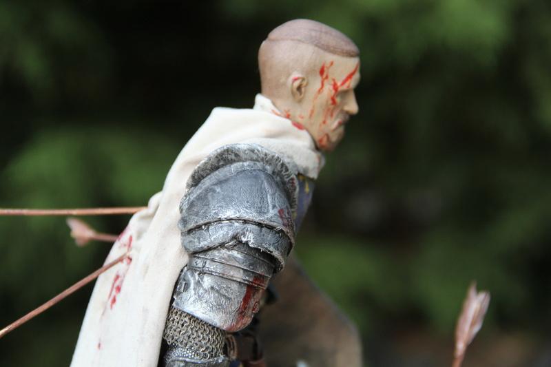 Mort d'un chevalier (Azincourt - 25 octobre 1415) Img_1616
