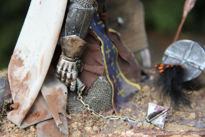 Mort d'un chevalier (Azincourt - 25 octobre 1415) Img_1617