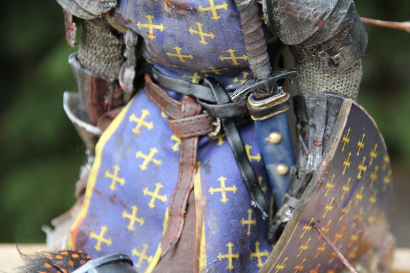 Mort d'un chevalier (Azincourt - 25 octobre 1415) Img_1619