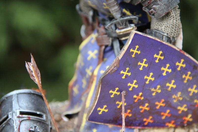 Mort d'un chevalier (Azincourt - 25 octobre 1415) Img_1622