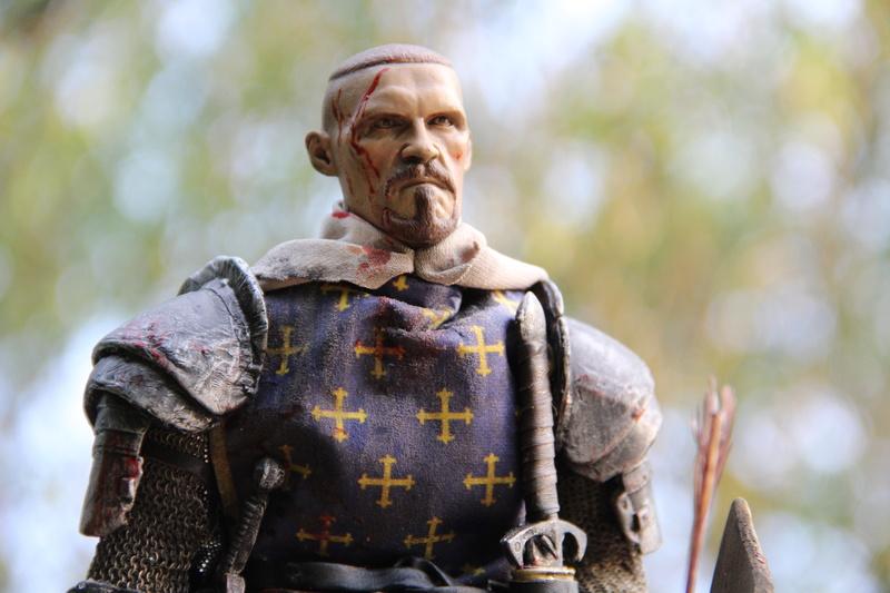 Mort d'un chevalier (Azincourt - 25 octobre 1415) Img_1624